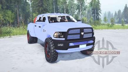 Dodge Ram 3500 Heavy Duty para MudRunner