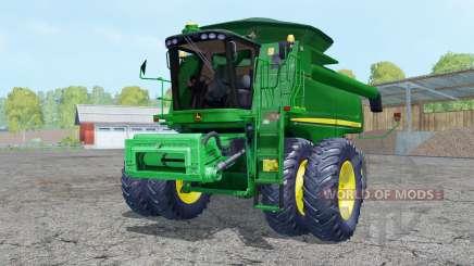 John Deere 9770 STS dual front wheels para Farming Simulator 2015