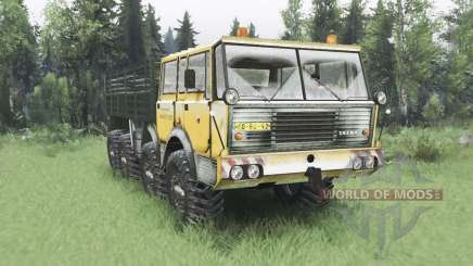 Tatra T813 TP 8x8 Kings Off-Road 2 winter v1.1 para Spin Tires