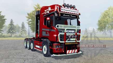 Scania R560 8x8 Topline Heavy Duty para Farming Simulator 2013