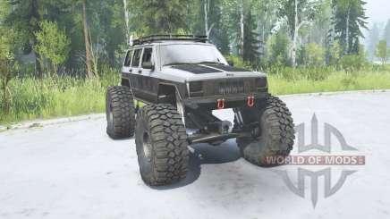 Jeep Cherokee (XJ) 1988 TTC para MudRunner