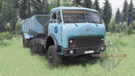 MAZ-504В macio azul para Spin Tires