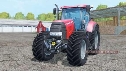 Case IH Puma 160 CVX new wheels para Farming Simulator 2015