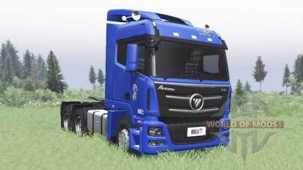 Foton Auman GTL 2012 v2.0 para Spin Tires
