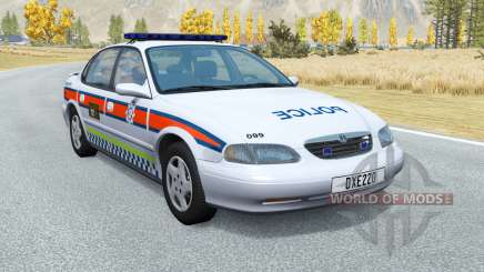 Ibishu Pessima British Police v0.4 para BeamNG Drive