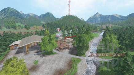 Wildcreek Valley v3.2 para Farming Simulator 2015