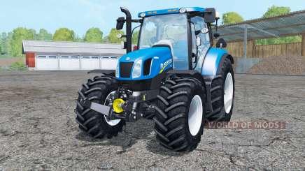 New Holland T6.175 interactive control para Farming Simulator 2015