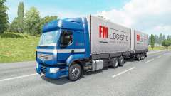 Grande capacidade para o tráfego de caminhões para Euro Truck Simulator 2