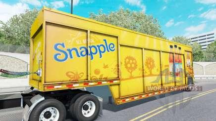 Semi-reboque para o transporte de bebidas Mickey para American Truck Simulator