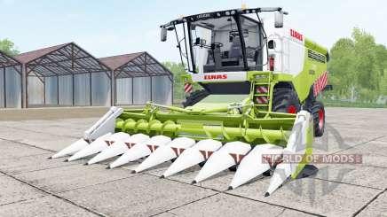 Claas Lexion 740 green and white para Farming Simulator 2017