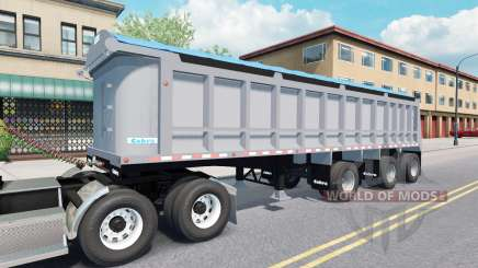 Semi-reboque basculante Cobra para American Truck Simulator