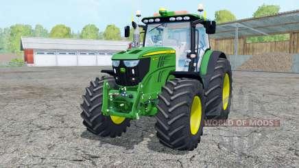 John Deere 6210R moving elements para Farming Simulator 2015