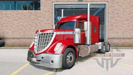 International LoneStar tractor red para American Truck Simulator